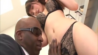 Asian by using a foot fixation transmits to some severe interracial sexual intercourse within the close up burst