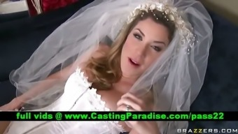 Kayla Paige astonishing big tits bride