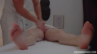 Blonde Czech hooker gets fucked very difficult upon the massage session tables