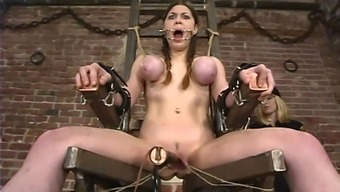 Mallory Knots gets brutally fucked with the use of cored things in BDSM cut short