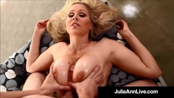 Big tits Blond Milf Julia Ann Adores Sizzling Loads Of Cum With her!