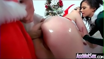 Deep Complicated Anal Love-making Along with Elegant Major Round Booty Love (Keisha Grey &_ Jenna Cream) video-18