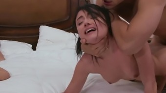 Adria Rae gets seriously fucked beside her mama