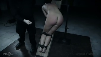Bootylicious submissive Abigail Dupree gets metal hook in her rising cost of living butt