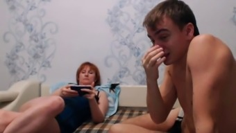 real mom-son webcam seven