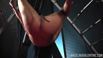 Incredibly tempting nun Angelina Most gorgeous pleasing her soppy pussy