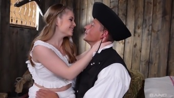 Horny infant Alessandra Jane appreciates a stiff dick a little more than anything