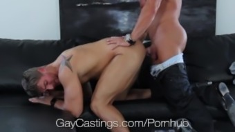 Hdtv GayCastings - Strong south texas guy fucked on driving them away sofa