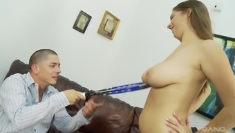 Lovely Alex Risk ultimately direct to play with a delectable junk