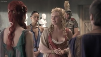 Spartacus Warfare Of one's Damned S01E11-13 (year 2010) Lucy Natural environment, Viva Bianca, Katrina Regulation, Others