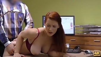 Loan4k. redhead isabella lui with huge hooters has sex